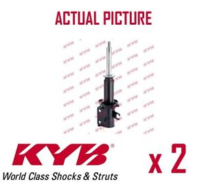 2 x NEW KYB FRONT AXLE SHOCK ABSORBERS PAIR STRUTS SHOCKERS OE QUALITY 633117