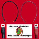 Set of Battery Inverter Cables 6' Red & Black 4/0 AWG Gauge Solar RV Car Boat  <br/> Made in the USA with Premium Cobra X-Flex Battery Cable