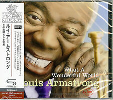 LOUIS ARMSTRONG-WHAT A WONDERFUL WORLD-JAPAN SHM-CD C94