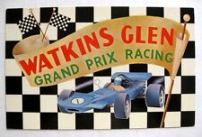 1960-70s Watkins Glen International Grand Prix Racing Postcard