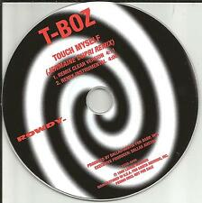 TLC Tionne T BOZ Watkins Touch Myself JERMAINE DUPRI MIX & INSTRUMENTAL PROMO CD