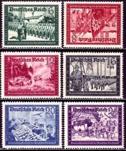 THIRD REICH Mi. #773-778 mint MNH stamp set! CV $72.50