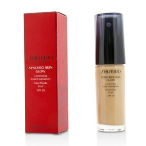 NEW Shiseido Synchro Skin Glow Luminizing Fluid Found (# Rose 3) 30ml/1oz Womens