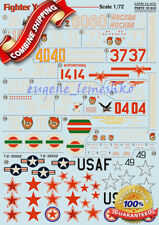 """Print Scale 72-072 """" Wet Decal for Fighter Yakovlev Yak-9 """" Model Decals 1/72"""