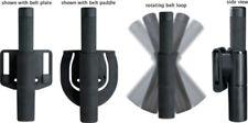 ASP Federal Scabbard Set Fits any F-16 baton. Black polymer construction. Retain