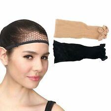 Wig Cap Liner Stocking Black Beige Net Mesh Stretching Hair Style Fashion