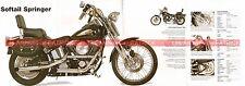 HARLEY DAVIDSON FXSTS 1340 Softail Springer 1996 Fiche Moto 000510
