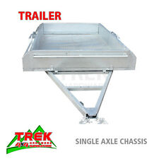 6x4 TRAILER CHASSIS HOT DIP GALVANISED SINGLE AXLE