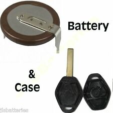 Panasonic VL2020 Rechargeable Battery for BMW Fob Diamond key & NEW SHELL CASE