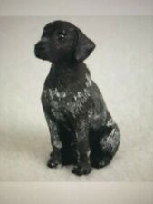 Small German Shorthair Pointer Dog Figurine. New!