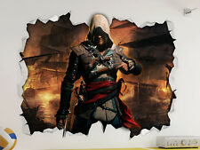 CLEARANCE  -  Assassins Creed Wall Vinyl Sticker Poster - Room Mural