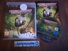 EARTH DIFESA FORCE INSECT ARMAGEDDON PS3 SONY PLAYSTATION 3 PAL COMPLETO