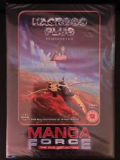 "NEW DVD ""MACROSS PLUS"" - Manga Force - New Sealed!!!"
