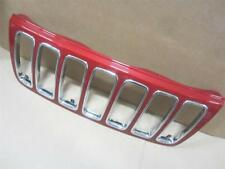 OEM 2001-2003 Jeep Grand Cherokee Limited Overland Grille Painted Inferno Red