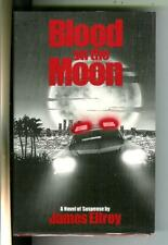 BLOOD ON THE MOON by James Ellroy, Mysterious Press crime hardcover in DJ