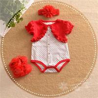 Baby clothes infant newborn baby girls summer cotton princess bodysuit