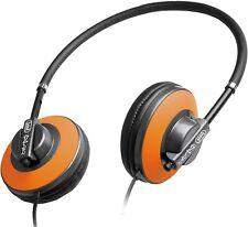 Trevi DJ623 iDJ Stereo HiFi Headphones with built in Mini Microphone in Orange