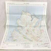 1967 Vintage Militare Mappa Di Capo Wrath Scozia Durness Il Scozzese Highlands