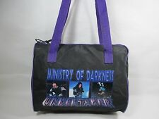 Vintage Purple Black The Undertaker Ministry of Darkness Plastic Tote Bag Used
