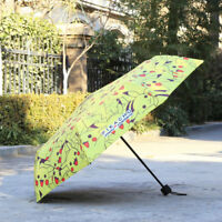 Anime Pikachu Umbrella PokéMon Go Cartoon Children Kids Parasol Birthday Gifts