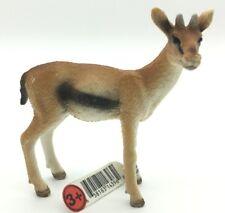 2008 Retired Schleich Gazelle 14396 Female Wildlife Figure Plastic Toy Antelope