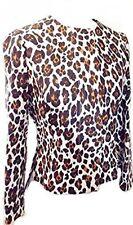 Stella McCartney Leopard Print Single Breasted Jacket Size Small UK 10 It 40