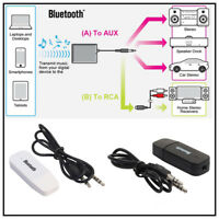 3.5mm Wireless Bluetooth 2.1 + EDR USB AUX Audio Music Receiver Adapter Lot