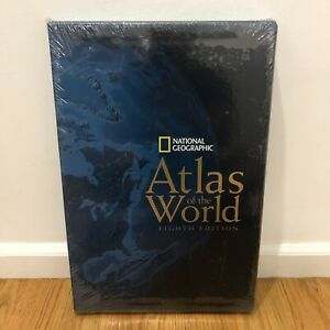 NEW - National Geographic Atlas of the World 8th Edition Hardcover Book