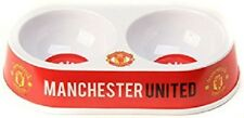 OFFICIAL MANCHESTER UNITED CAT BOWL  - FREE P&P