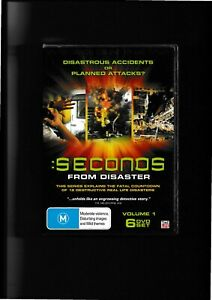 Seconds From Disaster - Volume 1 DVD