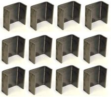 """(12) Pack Set of  2""""x 4"""" Weld On Trailer Stake Pockets"""
