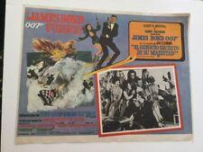 JAMES BOND 12x16 HER MAJESTYS SECRET SERVICE MEXICAN LOBBY CARD 1969