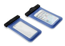 "Waterproof Underwater Cover Case Bag Dry Pouch for iPhone 4 5 6 7 Samsung 5.2"" Blue"