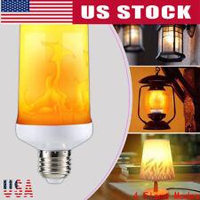 E27 LED Burning Flicker Flame Effect Fire Light Bulb Christmas Decorative Lamp