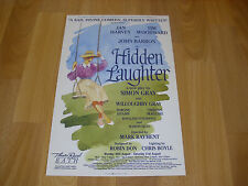 HIDDEN LAUGHTER  John BARRON & Jan HARVEY  Theatre Royal BATH Original Poster