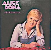++ALICE DONA de la tendresse LP 1979 PATHE MARCONI mon mec a moi/moniteurs VG++