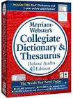 Merriam-Webster Collegiate Dictionary & Thesaurus - iPod enabled