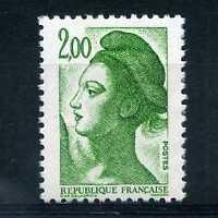 FRANCE 1987, timbre 2484, type Liberté, neuf**