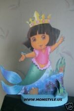 Dora Mermaid centerpiece Birthday Party Decoration