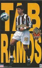TAB RAMOS NY METRO STARS MLS Original Starline Poster MINI Promo Piece 3x5