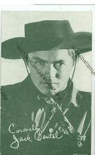 JACK BENTEL-STERN LOOK-B/W-ARCADE CARD--(CW-142)