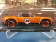 2012 Hot Wheels Boulevard Underdogs Porsche 914-6 In Orange W/ Real Riders