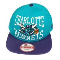 Charlotte Hornets New Era 9Fifty Snapback NBA Hardwood Classic Blue Purple Hat