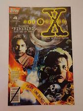 The X-Files Beginning Firebird Part 1 of 3 Vol.1 #4 Topps Comics April 1995 NM