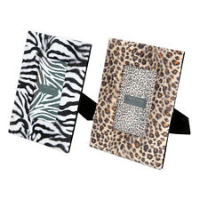Animal Print Photo Frame in Fabric for 6x4 Photo Insert