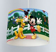 Mickey Mouse Clubhouse (039) Childrens Bedroom Drum Lampshade Light Shade