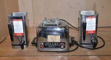 Vintage Vitamix 3600 stainless steel blender grinder mixer moonshine fruit tool