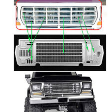 Metal Steel Radiator Grill Plate For Useful TRX-4 BRONCO 1/10 RC-Car Accessories