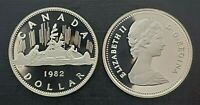 Canada 1982 Voyageur Proof Gem UNC Nickel Dollar!!