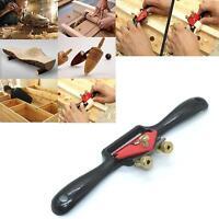 Wood Craft Metal Blade Spoke Adjustable Shave Hand Plane Woodworking Tool QK